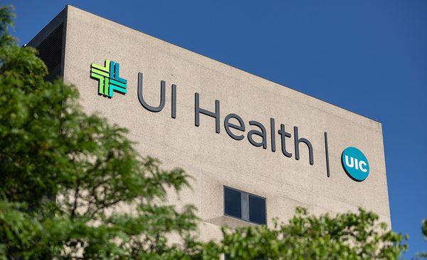 UI Health sign